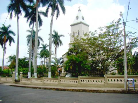 Catholic Church in Atenas, Costa Rica