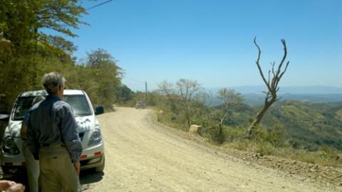 road from monteverde to san jose