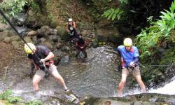 Canyoning tour Arenal Volcano
