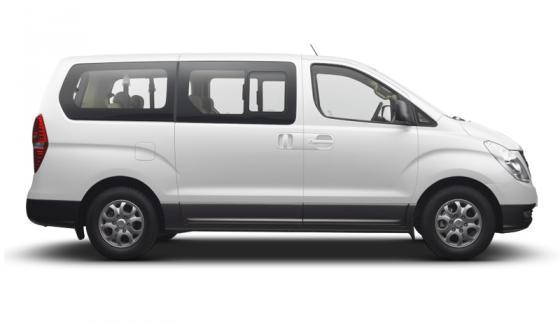 Transportation in Costa Rica - Hiunday H1 Mini-Van (6 passengers)