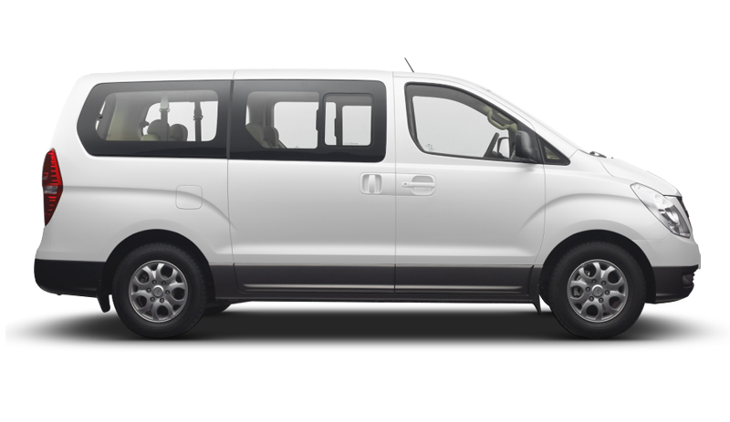 Transportation in Costa Rica - Hiunday H1 Mini-Van