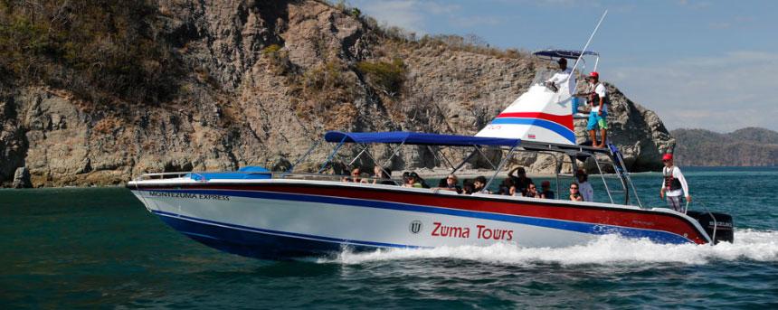 Taxi Boat from Santa Teresa Beach to Jaco Beach